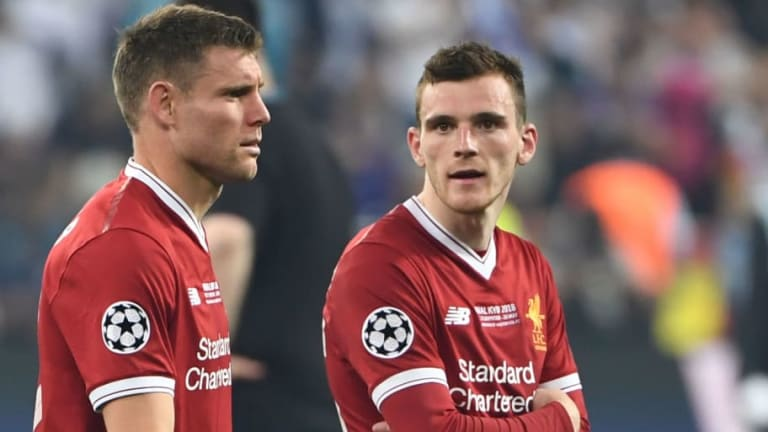 Liverpool Full Back Andrew Robertson Reveals What He Did With His Medal Following UCL Final Loss
