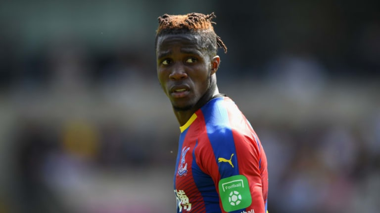 Crystal Palace Duo Beg 'Irreplaceable' Zaha to Stay After Forward Linked With Spurs & Everton