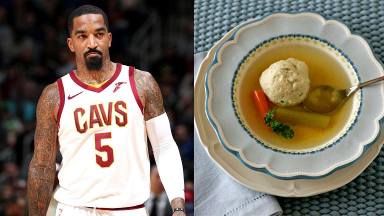 Traina Thoughts: Only J.R. Smith Would Get Suspended for Heaving a Bowl of Delicious Soup