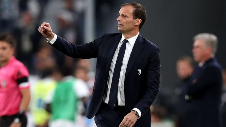 Massimiliano Allegri Hails Ronaldo's 'Best Game' After Starring Role in Juventus' 2-0 Napoli Win