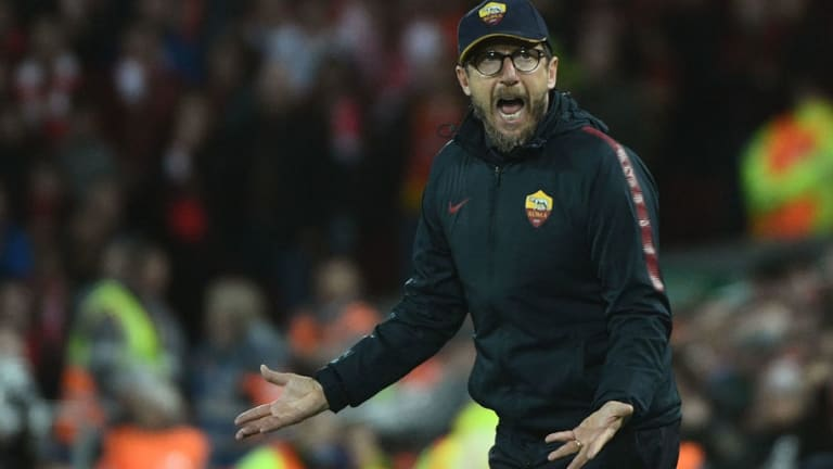 Di Francesco Insists Roma 'Don't Need Miracles' Despite Heavy Semi Final Defeat to Liverpool