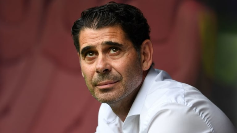 Spain Coach Fernando Hierro Unsure on Future as RFEF Consider Arsenal & Newcastle Boss