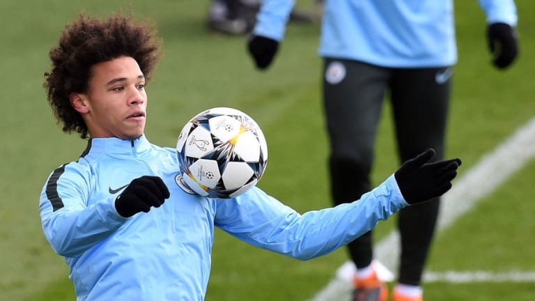 Leroy Sane in Man City Squad to Face Basel as Forward Makes Shock Return From Ankle Injury
