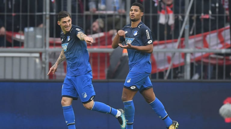 Arsenal Fans Rue Missed Opportunity With Serge Gnabry After Youngster Impresses for Hoffenheim