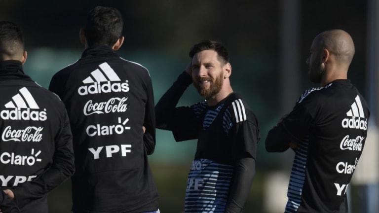 ACÁ ESTÁN, ÉSTOS SON   Los probables 11 de Argentina para el amistoso ante Haití