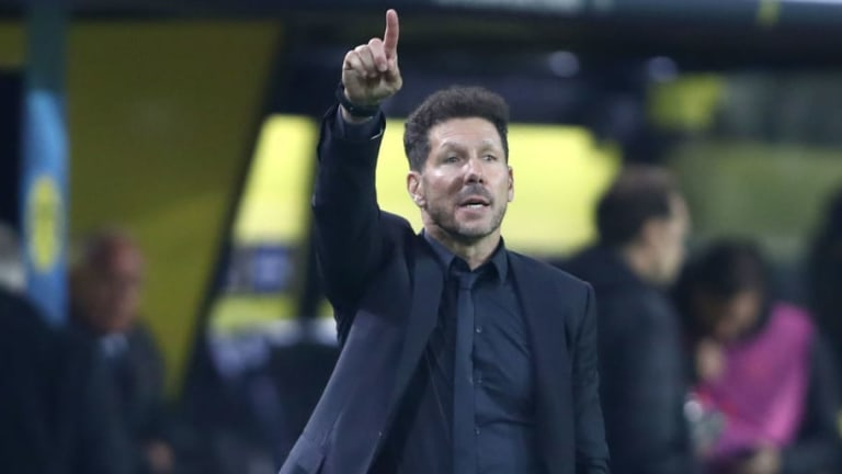 Diego Simeone 'Happy' With Atletico Madrid's Performance in Narrow Copa del Rey Victory