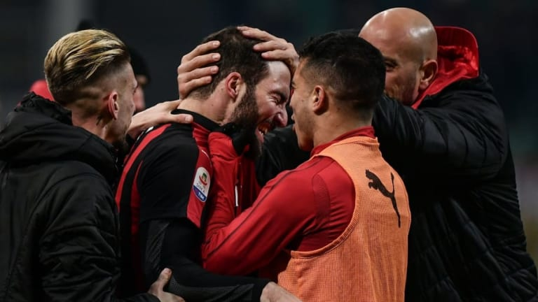 AC Milan 2-1 SPAL: Report, Ratings & Reaction as Higuaín Ends Goal Drought to Secure Narrow Win