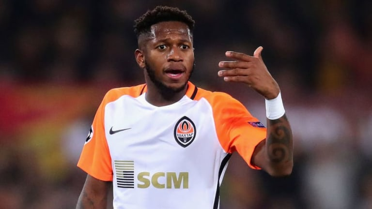 Man Utd Confirm Fred Squad Number as New Brazilian Signing Trains With Teammates for the First Time