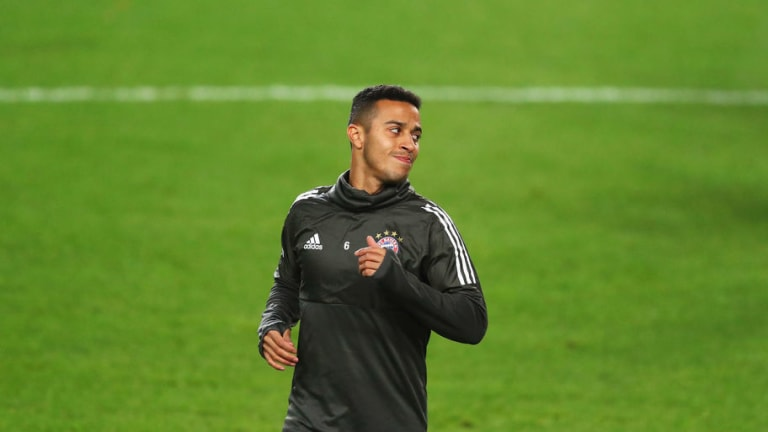 Thiago Alacantara Could Make Bayern Return in Matter of Weeks After Productive Training Sessions