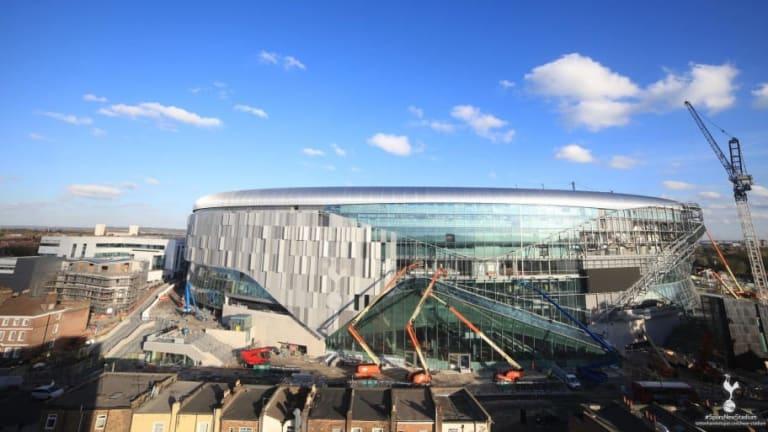 PHOTOS: Latest Pictures of Tottenham's New Stadium Boast Significant Progress
