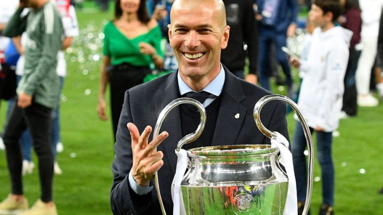 Zinedine Zidane Lauds History-Making Real Madrid Following Third Straight UCL Crown