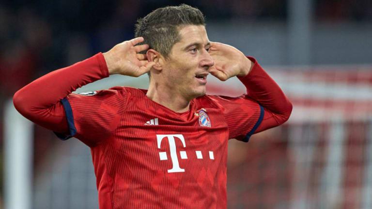 Robert Lewandowski Becomes 3rd Fastest Player to Net 50 Champions League Goals With Benfica Brace