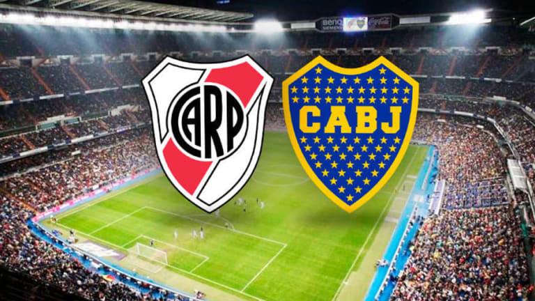 Los 7 partidos que jugaron River y Boca en el Santiago Bernabéu