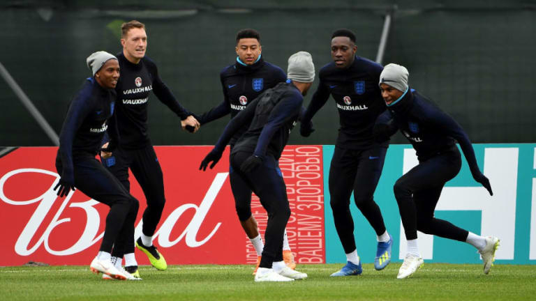 Man Utd Pair Insist They Are 'Prepared' to Step Up if England Go to Penalties Against Colombia