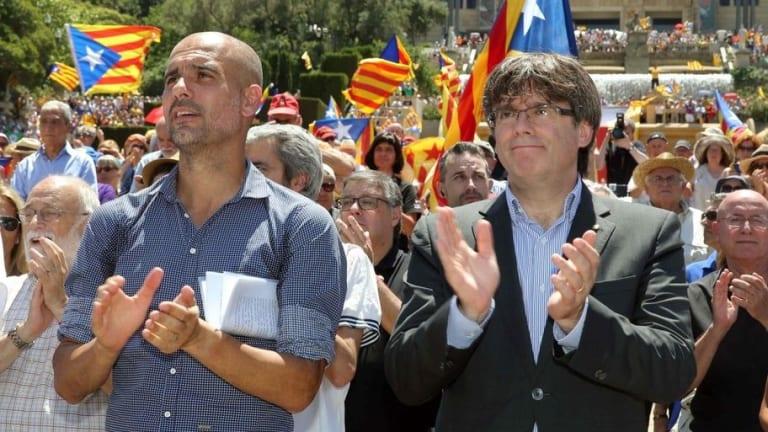 La Guardia Civil registra avión de Guardiola buscando a Puigdemont