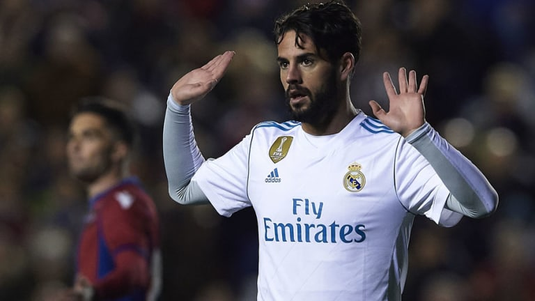 Incredible Stat Show Just How Important Isco Is to Zinedine Zidane & His Real Madrid Teammates