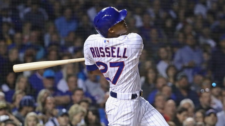 Report: MLB Extends Addison Russell's Administrative Leave Through Sunday