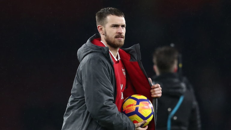Arsene Wenger Provides Discouraging Update on Aaron Ramsey as Carabao Cup Final Looms