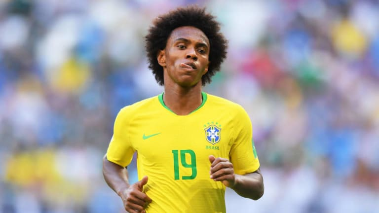 Report Claims Chelsea Will Only Sell Willian to Man Utd On One Specific Condition