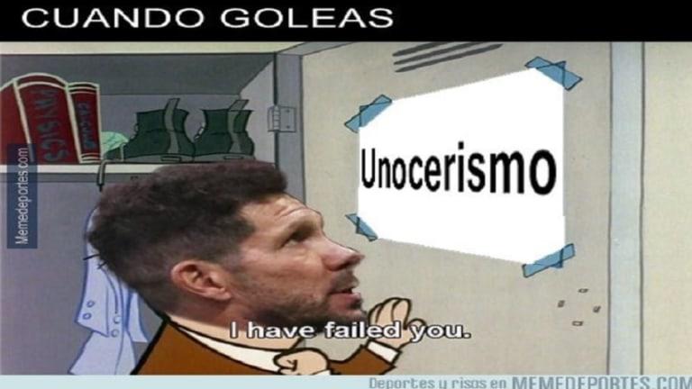 Los mejores memes de la goleada del Atlético, los goles de Messi y más
