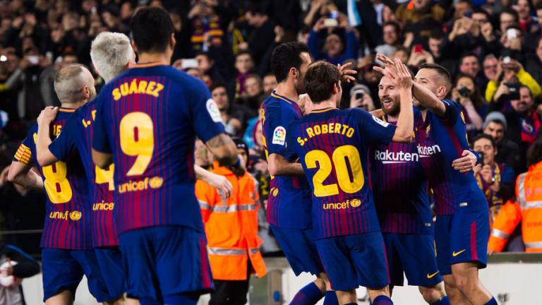 Los goles milenarios del FC Barcelona en el Camp Nou