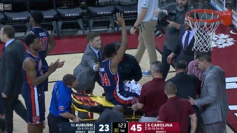 Auburn's Anfernee McLemore Out 4–6 Months After Horrific Ankle Injury
