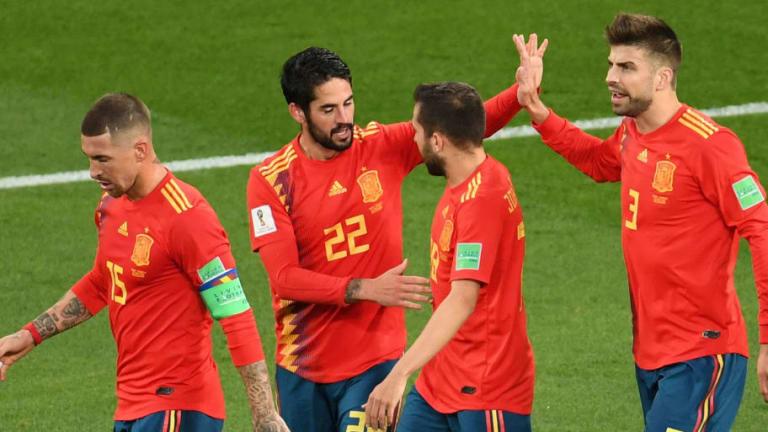 El gafe de la selección española contra los equipos anfitriones