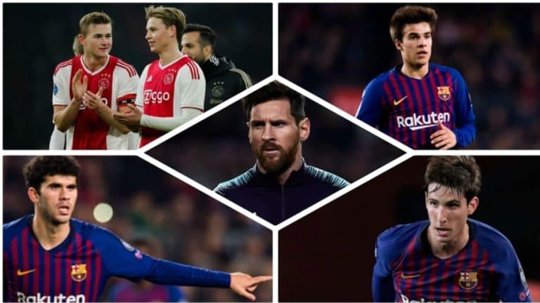 Messi habla de los posibles refuerzos holandeses y de los últimos canteranos del primer equipo