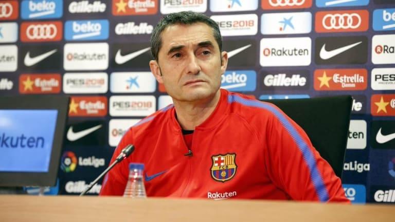 """Valverde: """"El del Málaga no es un partido de prueba"""""""