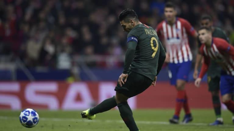 El homenaje que le brindó el Atlético de Madrid a Falcao