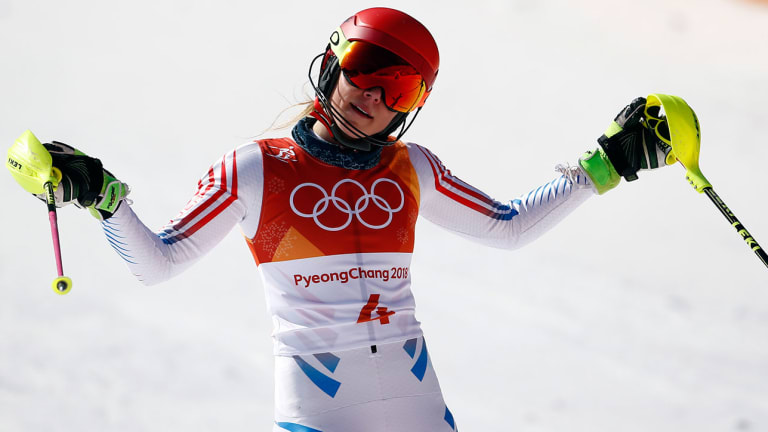 Friday Olympic Digest: U.S. Stumbles on Slopes, Ice; Lindsey Vonn Takes to Her Skis