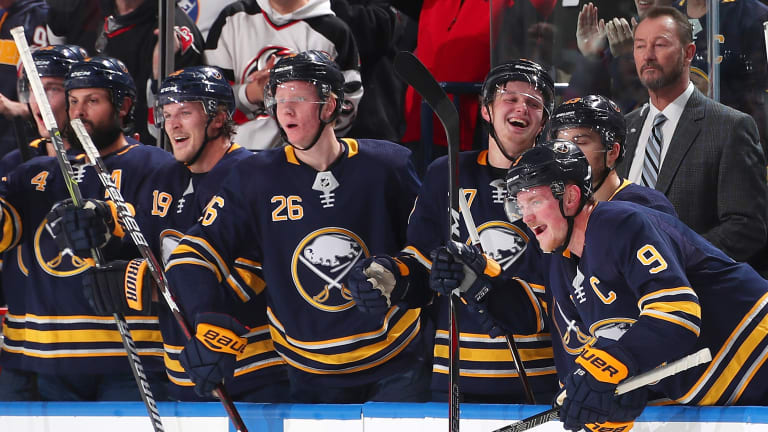 Worst in NHL Last Season, Sabres Are Surging After 9–0 Run