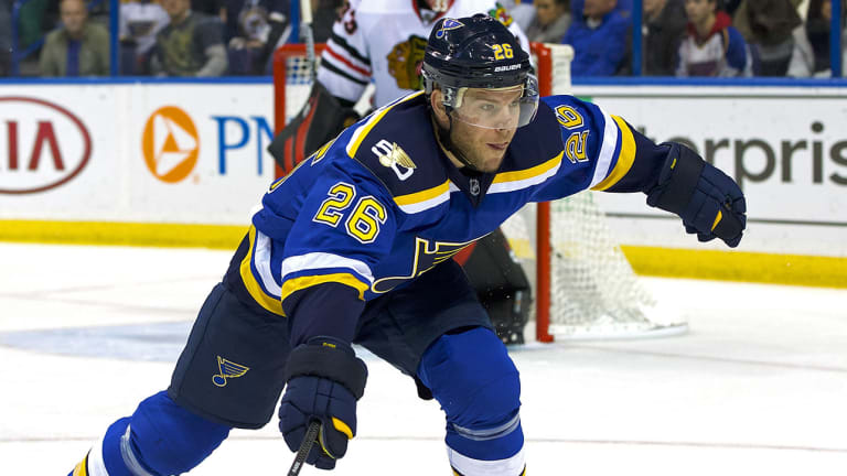 Jets Acquire Veteran Forward Paul Stastny from Blues
