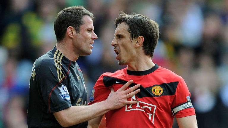 Gary Neville Reveals What He Thought of Jamie Carragher When Playing Against Him for Man Utd
