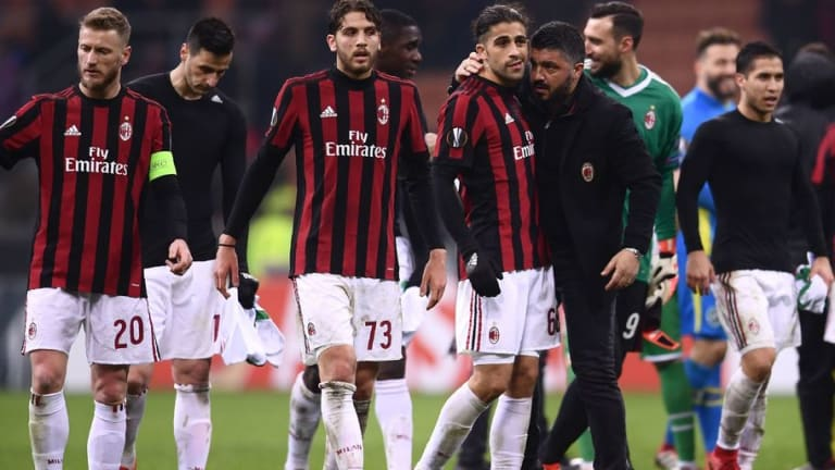AC Milan Boss Gennaro Gattuso Praises Players After Rossoneri Book Place in Europa League's Last 16