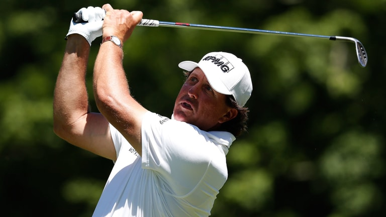 Phil Mickelson Breaks Rules Again at Greenbrier, Calls Two-Stroke Penalty on Himself