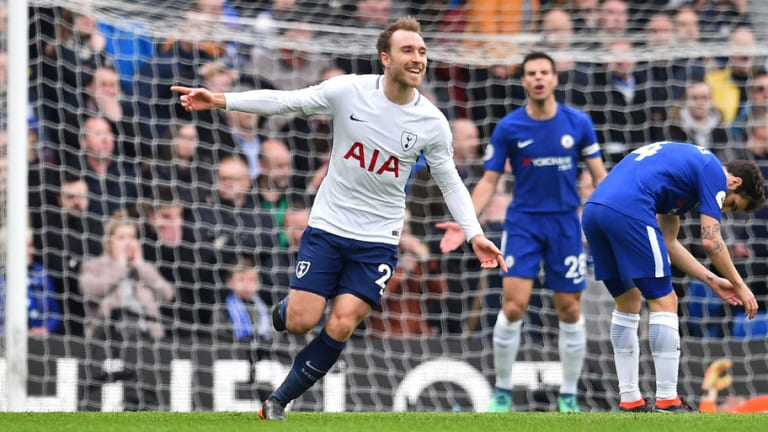 Christian Eriksen Becomes Premier League's Leading Sniper With Long-Range Strike Against Chelsea