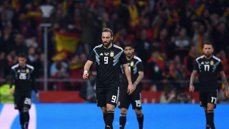 ESPAÑA 6-1 ARGENTINA | El 1x1 de los jugadores argentinos tras el papelón
