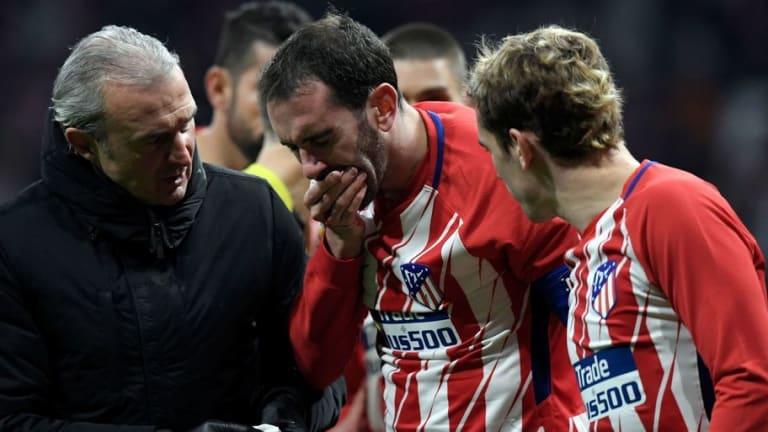 El divertido mensaje de Godín tras perder algunos dientes contra el Valencia