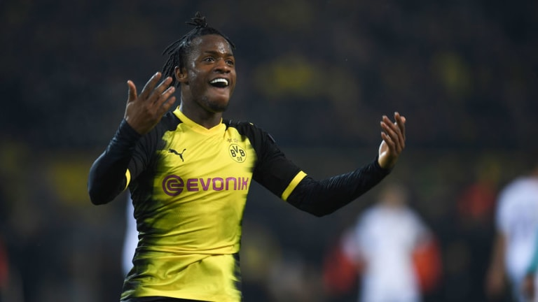 Borussia Dortmund Boss Peter Stoger Describes Match Winner Michy Batshuayi as a 'Special Striker'