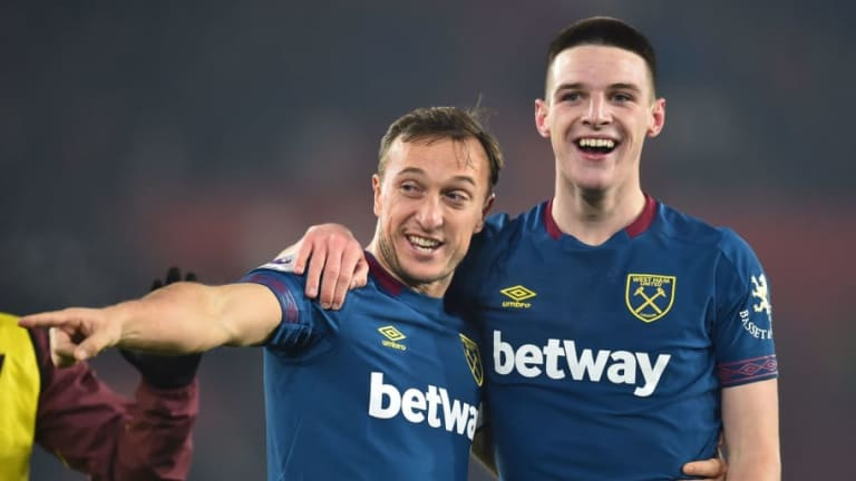 Mark Noble Insists 'Sky Is the Limit' for Declan Rice After Youngster Signs Long-Term West Ham Deal