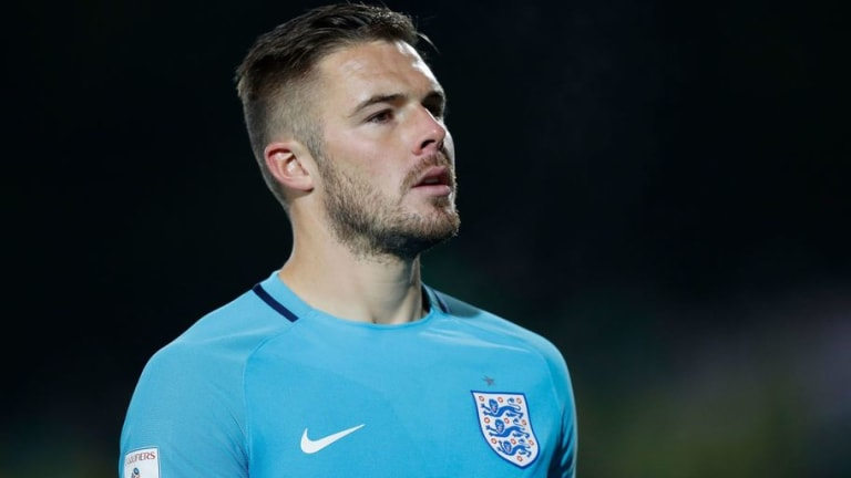 FA Confirm Jack Butland Will Start for England Against Italy at Wembley on Tuesday