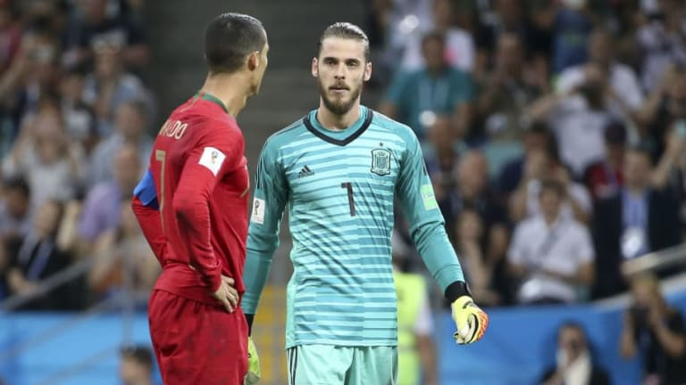 David de Gea Calls for More Support From Spanish Public Following Portgual Howler