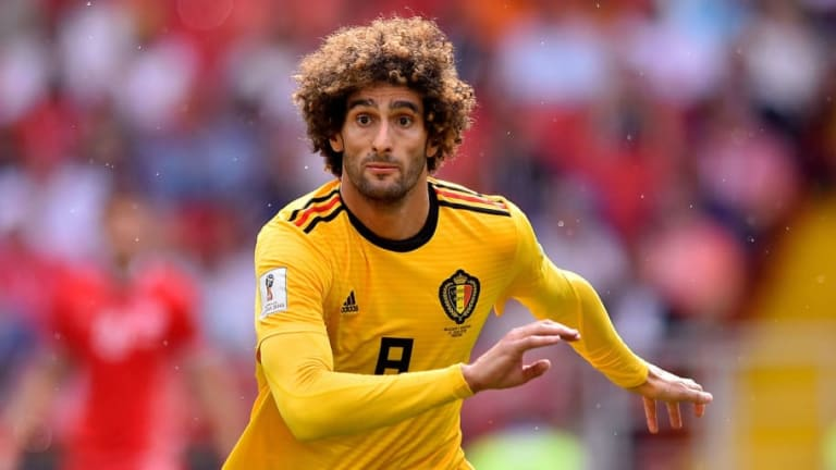 He Stays: Belgian Report Claims Marouane Fellaini Has Agreed New 2-Year Contract at Man Utd