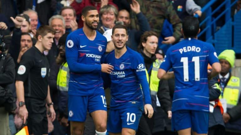 Chelsea Superstar Eden Hazard Claims Ruben Loftus-Cheek Can Become One of England's Best Midfielders