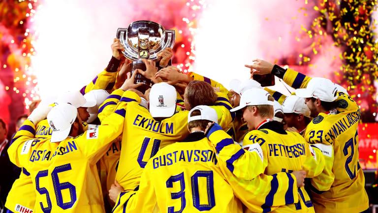 Sweden Beats Switzerland to Take Gold at IIHF World Championship