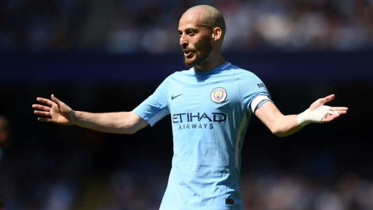 Manchester City Midfielder David Silva Gives Update on Infant Son Following Premature Birth