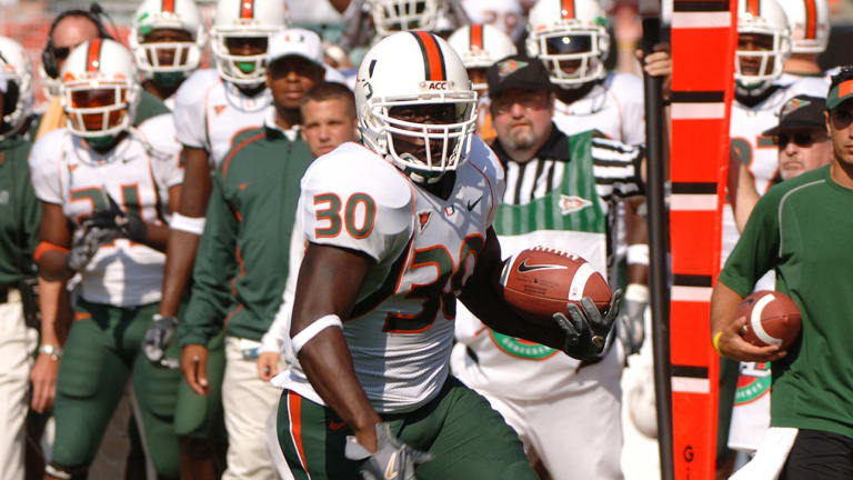 Former Miami Running Back Tyrone Moss Dead at 33 for Undisclosed Reasons