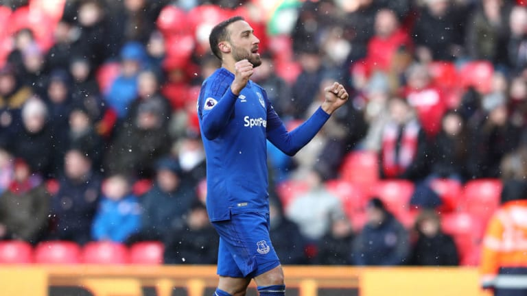 Portuguese Giants Linked With Summer Swoop for Everton's Cenk Tosun in Player-Plus-Cash Deal