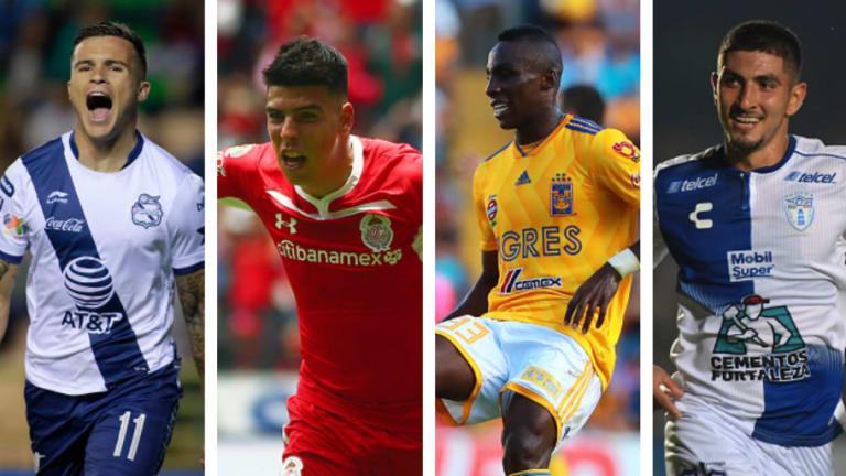 ¡VAYA EQUIPAZO! | El XI ideal de la jornada 14 del Torneo Apertura 2018 de la Liga MX